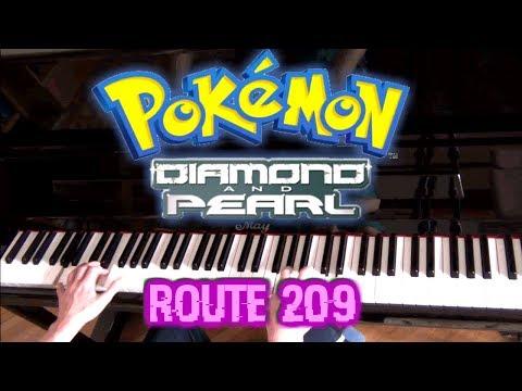 [Piano Cover] Route 209 (Pokémon Diamond/Pearl/Platinum) || AqareCover
