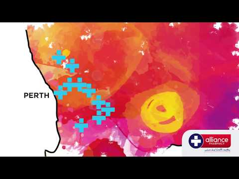 Alliance Pharmacy Perth TVC Colour Me Healthy Oct 2017