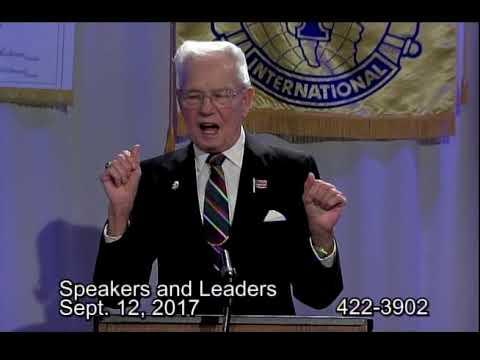Speakers And Leaders 2017 September