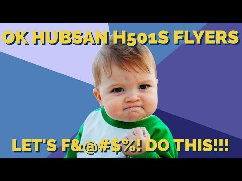Can Hubsan H501s F@#$%* Do This?!? [A CHALLENGE FOR YOU]