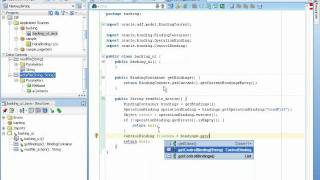 Working with the ADF Java Bean Data Control
