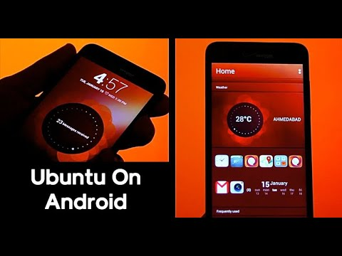 Turn Your Android Into Ubuntu Touch OS  (Amazing Feautures!!) || Latest Video 2020