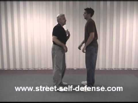 Self Defense  - Against a double collar grab