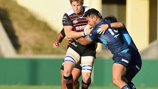 Nardus van der Walt Japan Rugby Highlights