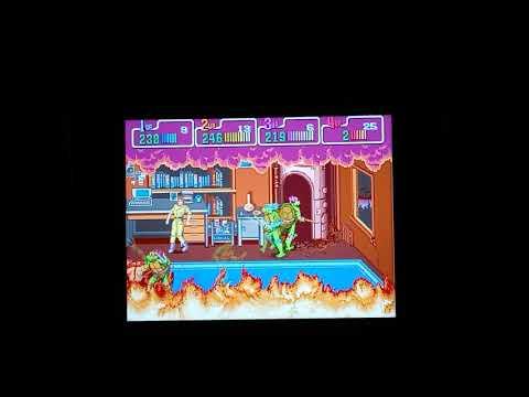 SosaFamBamBam Arcade1Up Teenage Mutant Ninja Turtles Playthrough from SosaFamBamBam Family