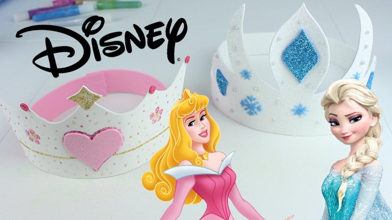 Coronas De Princesas Disney Youtube
