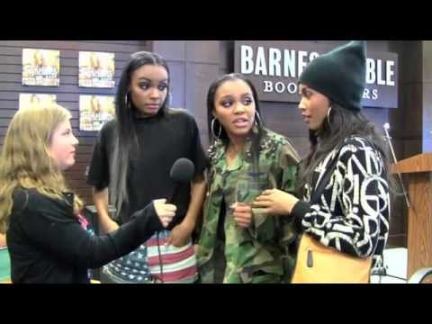 McClain Sisters Interview at Chef Ellamarie's Celebrity Book Signing