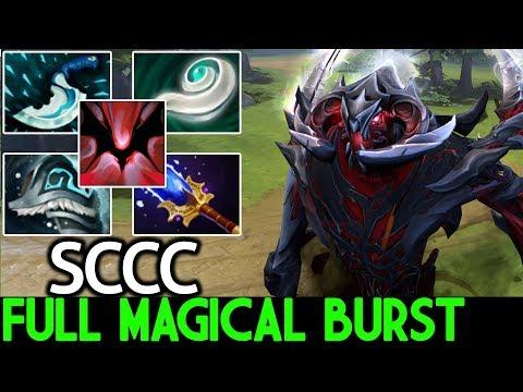 SCCC [Shadow Fiend] Full Magical Burst 26 Kills Insane Game