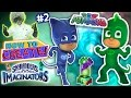 SKYLANDERS IMAGINATORS CREATION of PJ MASKS GEKKO & CATBOY Disney Channel (How to Create Recipe #2)