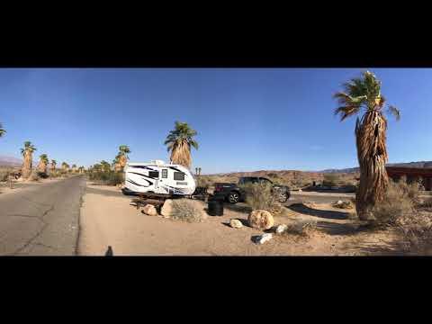 Drive Through Anza Borrego Palm Canyon Campground