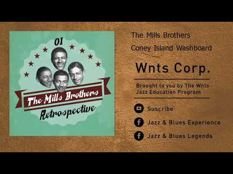 The Mills Brothers - Coney Island Washboard