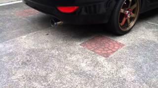 Hks muffler Hyundai Accent