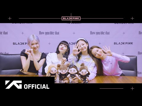 BLACKPINK - [How You Like That] ONLINE FANSIGNING EVENT