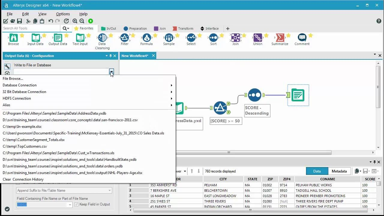 Getting Started Filtering Data with Alteryx Designer