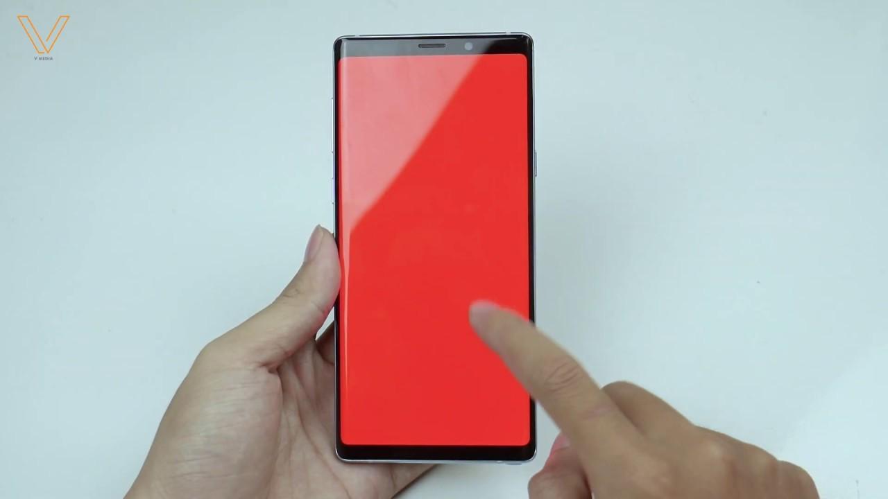 Hướng dẫn test Samsung Note 9 cũ để tránh ngậm trái đắng mua phải máy đểu!