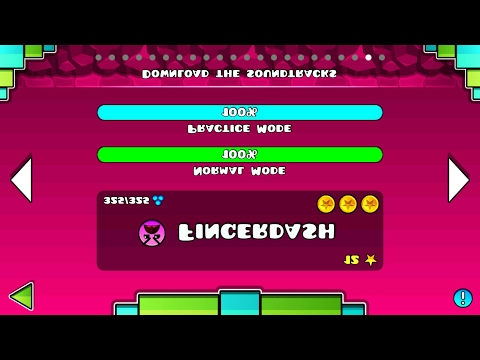 FINGERDASH but..UPSIDE DOWN 8) | Geometry Dash 2.1 : Fingerdash Z - W35gamer