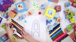 Буква А [а]. Учим буквы русского алфавита. #Азбука с Тётушкой Азбуковной