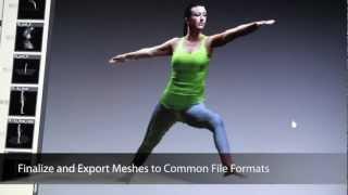 3D Scanner Software for Microsoft Kinect or Asus Xtion Sensor:…