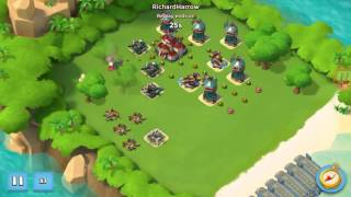 Boom Beach NPC Base Crossfire Level 45