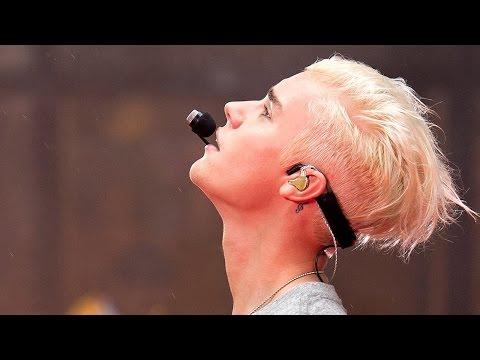 Justin Bieber Today Show Interview, Performance & New PLATINUM Blonde Hair