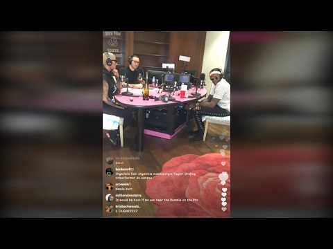 Amber Rose and 2chainz podcast Instagram LIVE