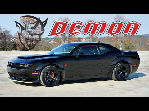 2018 Dodge Demon Review | From a Corvette Owner...