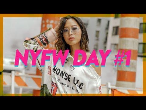 NYFW Day 1: Cardi B & Nicki Minaj recap, Monse show  Vlog #61  Aimee Song