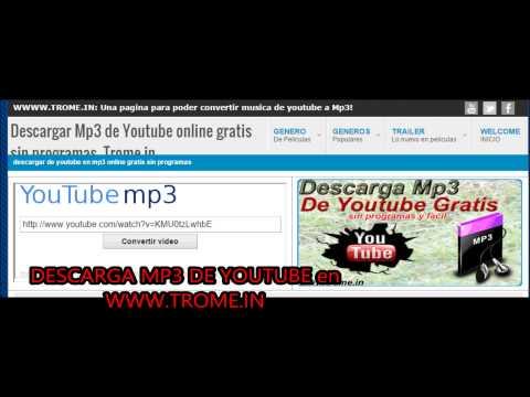 Donde puedo descargar musicas gratis de Youtube