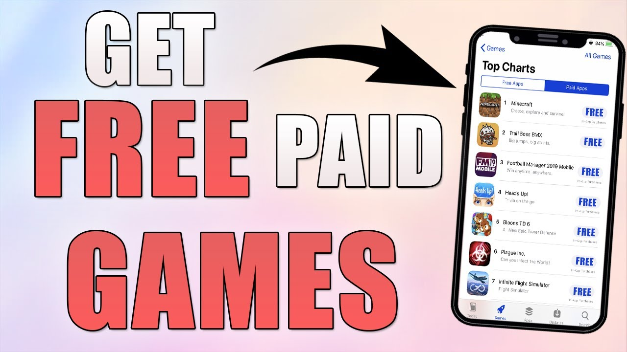 best iphone games without in app purchases free