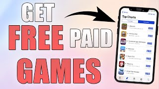 Get FREE PAID GAMES & FREE In-App Purchases! ( No Jailbreak / No Computer ) iOS 12 iPhone, iPod
