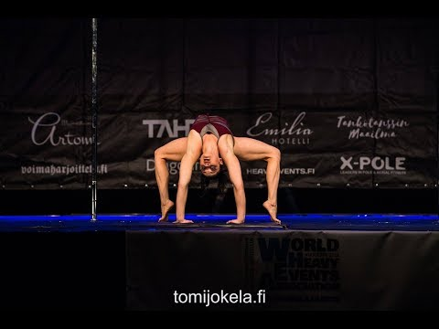 Julie Frota - Nordic Pole Championship 2018 (Silver medal) |