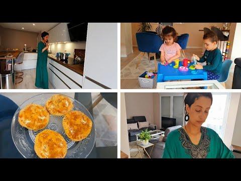 routine-d'une-maman-au-foyer-//-recette-pain-farci-facile-et-rapide