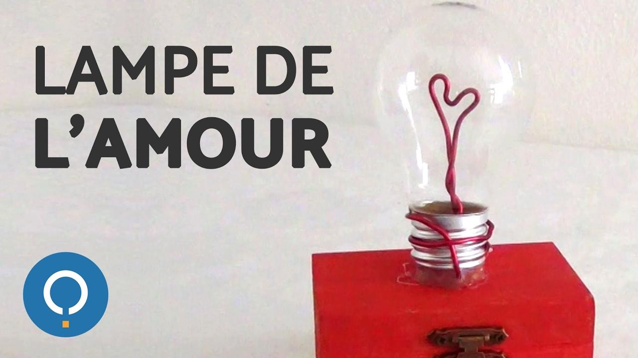 Turbo Cadeau DIY Saint-Valentin : ampoule de l'amour - YouTube FW81
