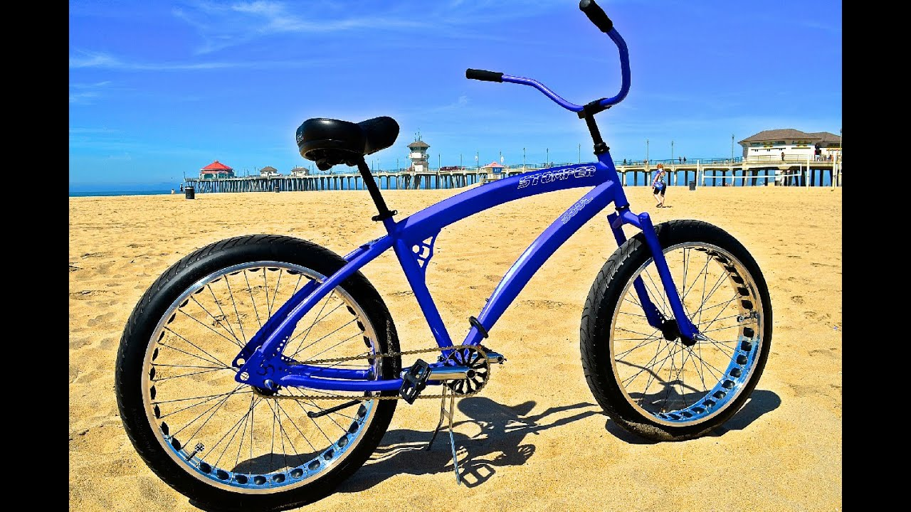 Fat Tire Soul Stomper In Huntington Beach Rotweiler In Tow Youtube