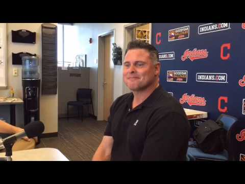 Jason Giambi, Indians guest instructor