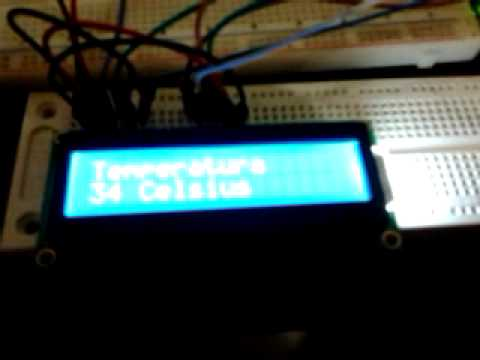 Arduino medidor de temperatura lm35 lcd 1602 youtube - Medidor de temperatura ...