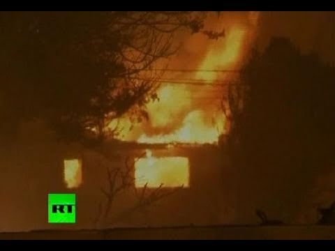 California Explosion: Video of massive fire destroying 53 homes in San Bruno