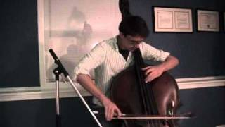 Bach Cello Suite No. 1 - Minuets I & II (Double bass)