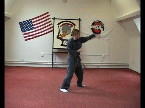 Irish Kenpo Blocking Form, Forms 1÷3