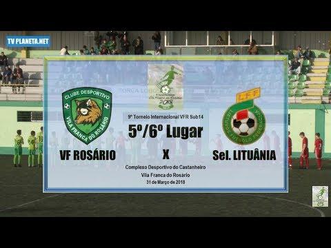 Resumo Fut11: VF ROSÁRIO 0x1 LITUÂNIA - 5º/6º Lugar do 9º Torneio VFR Sub14