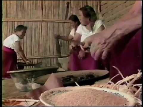 Making mole negro sauce in Oaxaca, Mexico