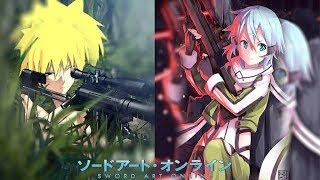 Naruto el jugador Mudo: sword art online 「One shot」