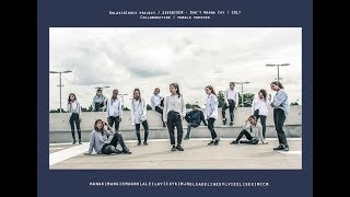 Video [DANCE COVER] SEVENTEEN(세븐틴) _ Don't Wanna Cry (울고 싶지 않아) From FRANCE (female version) download MP3, 3GP, MP4, WEBM, AVI, FLV Maret 2018