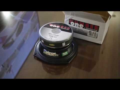 Monacor SPH-135/AD HiFi Bass Speaker Unboxing