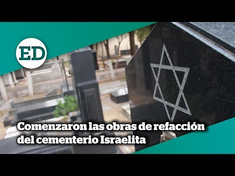 Comenzaron Las Refacciones Del Cementerio Israelita