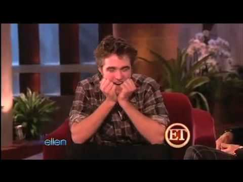 // Funny New Moon Interview Moments of Rob Pattinson // Part 1