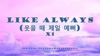 (Sub Indo) X1 - Like Always Terjemahan Indonesia