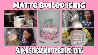 MATTE BOILED ICING | SUPER EASY & STABLE ICING #TitaAnnVlog 78