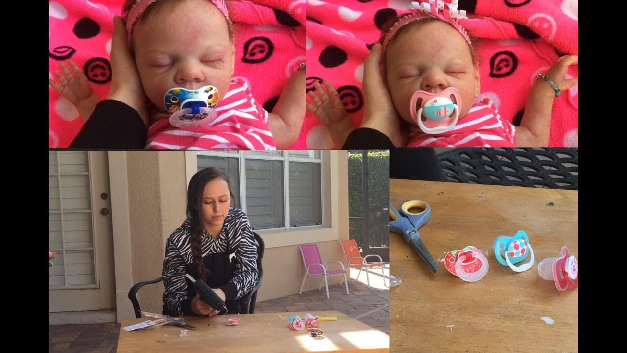 How To Make A Pacifier For Your Reborn Baby Doll