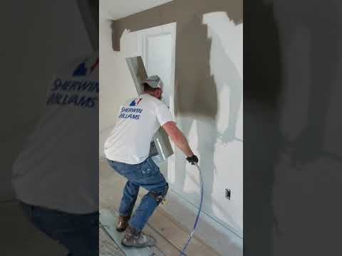Painting With A Graco 390  Airless Spraying  Lemacks Home Solutions